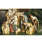 Roman 8 Piece Josephs Studio Religious Ceramic Christmas Nativity Set
