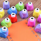 8 50Pcs DIY Paper Punch Cutter Printing Hand Shaper Scrapbook Tags Cards
