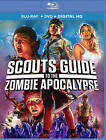 Scouts Guide to the Zombie Apocalypse Blu ray DVD 2016 2 Disc Set