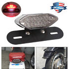 16 LED Motorcycle ATV Turn Signals Brake License Plate Integrated Tail Light US