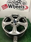 3968 17 FORD FIESTA Dark Gray Grey OEM Factory Original Alloy Wheel Rim