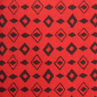 HERMES Sharp Red Aztec Arrowhead Native American Silk Neck Tie France 7528 IA
