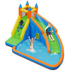 Inflatable Water Slide Bounce Mighty House Jumper Castle Moonwalk With no Blower