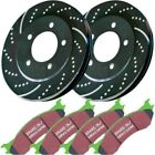 S3KR1071 EBC 2 Wheel Set Brake Disc and Pad Kits Rear New for Toyota Highlander