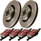 S1KR1303 EBC Brake Disc and Pad Kits 2 Wheel Set Rear New for Mercedes E Class