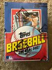 1982 Topps Baseball Wax Box Pristine Multiples