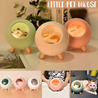 Cute Cat House LED Night Light Dimmable USB Rechargeable Bedroom Bedside Lamp