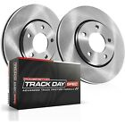 TDSK940 Powerstop Brake Disc and Pad Kits 2 Wheel Set Rear New for Audi 01 05