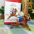 Hallmark Ornament 2014 Rudolph the Red Nosed Reindeer with Hermey-QXI2703
