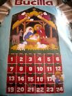 Christmas Bucilla Felt Applique ADVENT CALENDAR KitNATIVITYAngelJesus82959