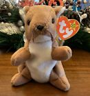Ty Beanie Babies - Nuts the Squirrel Retired 1996 Beanie Baby