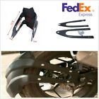 US Black Plastic Motorcycle Rear Wheel Mudguards Fender For Honda Kawasaki KTM
