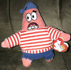 TY FIRST MATE PATRICK STAR BEANIE BABY - MINT with MINT TAGS