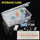 64 Slots Case Geometric Jewelry Storage Box Sticker Cross Stitch Painting Tools