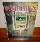 WORD PICTURES The Poetry  Art of Art Therapists Bruce L Moon SIGNED Copy RARE