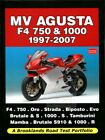 MV AGUSTA PORTFOLIO BROOKLANDS BOOK F4 BRUTALE ROAD TEST 1000 750 1997-2007