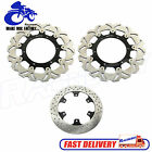 Front Rear Brake Disc Rotors for Yamaha Road Star XV1700 PC PCM Warrior Midnight