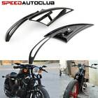 Motorcycle Blade Rearview Side Mirrors For Harley Sportster Softail Touring Dyna