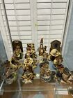 Lot of 12 Boyd's Bears Figurines-The Bearstone Collection-Mary-Joseph-Jesus COA