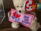 TY BEANIE BABIES ~ LOVE AND KISSES  / BEAR  ~ EXCELENT CONDITION   WITH TAGS