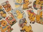 Vintage Easter Chicks CARDS DIE CUTS Gift Tags 36 Piece 12 Adorable Sweet Styles
