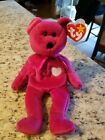 RARE Ty Beanie Baby, Valentina the Bear (1998, Retired) MISPRINTED TAGS