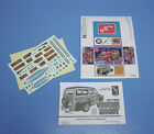 AMT 1941 Ford Custom Woody Decals, Instruction and mini-box 1/25 Scale