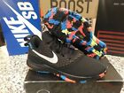 NIKE LeBron Witness III Black Chrome Cool Grey Volt Men Size 11 Shoes AO4433 009