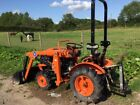 KUBOTA COMPACT TRACTOR MODEL B5000 RECENTLY REFURBISHEDNEW FRONT LOADER FITTED