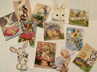 Vintage Style Easter CARDS DIE CUTS Gift Tags 48 Piece Sweet Images