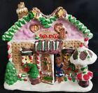 Gingerfrost Lane CAKE STORE Christmas Village Bldg Gingerbread Bakery Shop 4