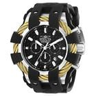Invicta Bolt 23858 Men's Chronograph Rose Gold Cable Silicone Watch