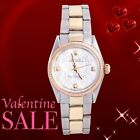 Rolex 31mm Midsize Oyster Perpetual Mother Of Pearl Diamond Dial - Oyster Band