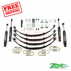 Zone Offroad 4 Lift Kit for 1987 1995 Jeep Wrangler YJ 4WD Gas