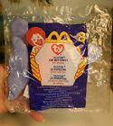 Ty Teenie Beanie Babies 2000 Flitter the Butterfly #8. McDonald's Sealed in Bag.
