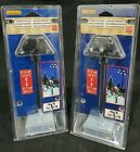 Lemax 2pcs FIELD LIGHTS Adjustable height  Christmas Village Lighted Accessory