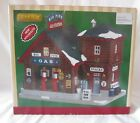 Lemax Village BIG PINES GAS STATION New in Box AS IS