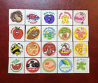 Vintage Trend Matte 80S Scratch And Sniff Sticker Lot No TM