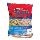 Advantage Rubber Bands Large Size 117b Crepe 7 x 1 8 Heavy Duty Made in USA