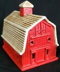 Enesco RED BARN for country farm house Christmas Village building accessory 5