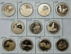 11 One Dollar Coin Lot 2009 through 2019 S Proof Sacagawea Native American 1
