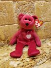 Ty Beanie Baby~VALENTINA Bear with Tag ERRORS!! *MINT CONDITION*