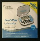 Weight Watchers Points Plus Calculator Bigger Buttons Brand New FACTORY SEALED