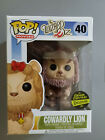 Funko Pop! Movies The Wizard Of Oz Cowardly Lion #40 Flocked Gemini Exclusive