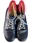 Alpina Cross Country Ski Boots 11.5-12 Purple Pink Excellent Condition