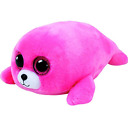 TY Beanie Boos 37085 Pierre The Seal Medium Pink New with Tags