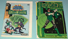 Green Lantern Mini Comic  File Card Super Powers Action Figure Kenner Joker