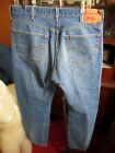 39x32 FIT Vtg 90s Levis 501 DISTRESS NATURAL FADE Buttonfly Raw Denim Jeans