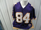 VINTAGE AUTHENTIC LOGO ATHLETIC MINNESOTA VIKINGS RANDY MOSS XL JERSEY AUTOGRAPH