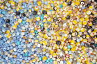Assorted Lot of Mixed Limited Old Stock Murano Glass Beads Making Supplies 26lb